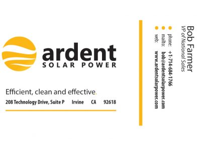 Ardent Business Card