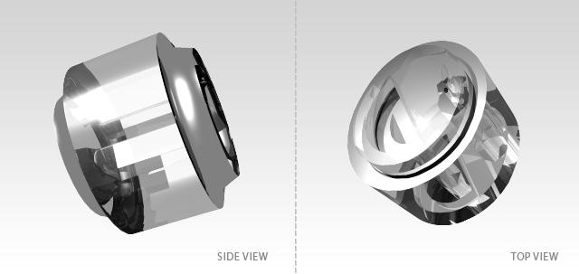 3D Buttons Concept