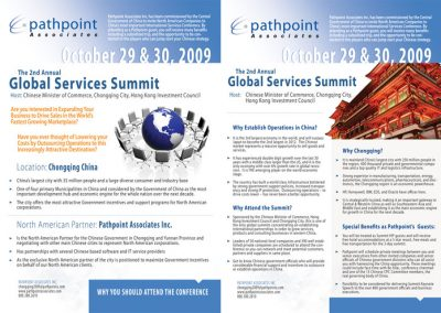Global Services Summit Brochure