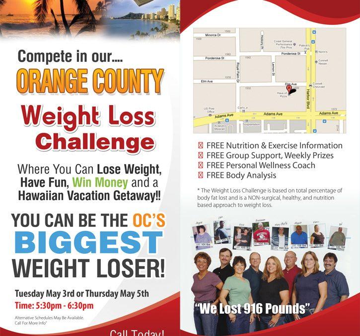 Weightloss Challenge Door Hanger