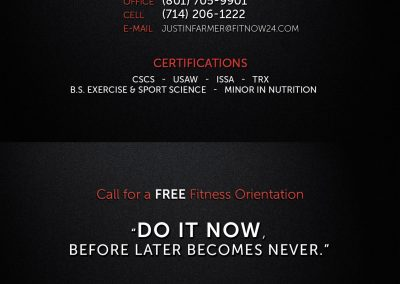 J Fit Business Card