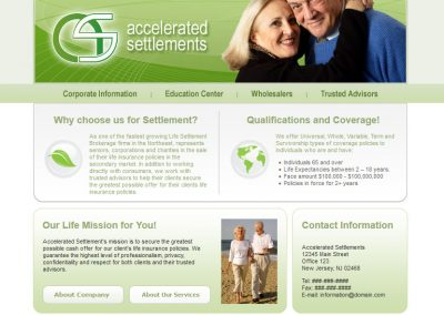 Accelerated Settlements